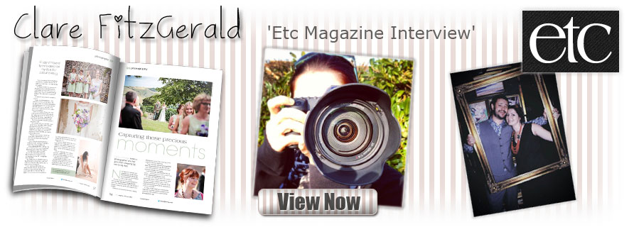 Fitzgerald Photographic - Clare Fitzgerald - Etc Magazine